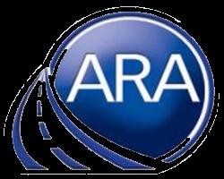 ARA blue logo