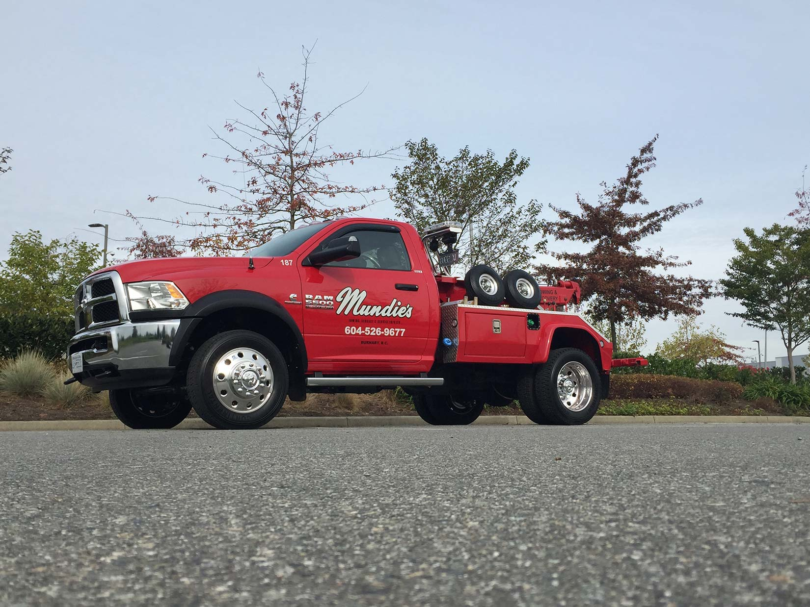 Burnaby towing experts are ready to help you with all kinds of towing services