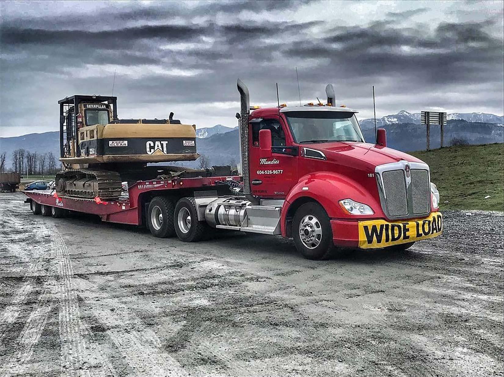 Our tow truck can help with your commercial needs